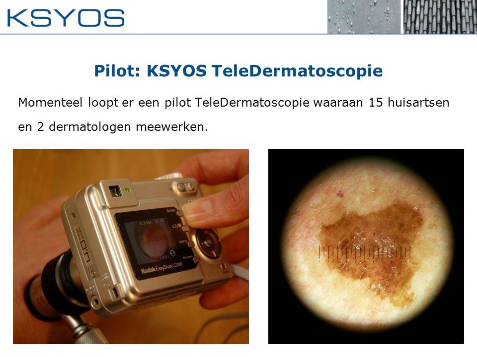Pilot: KSYOS TeleDermatoscopie
