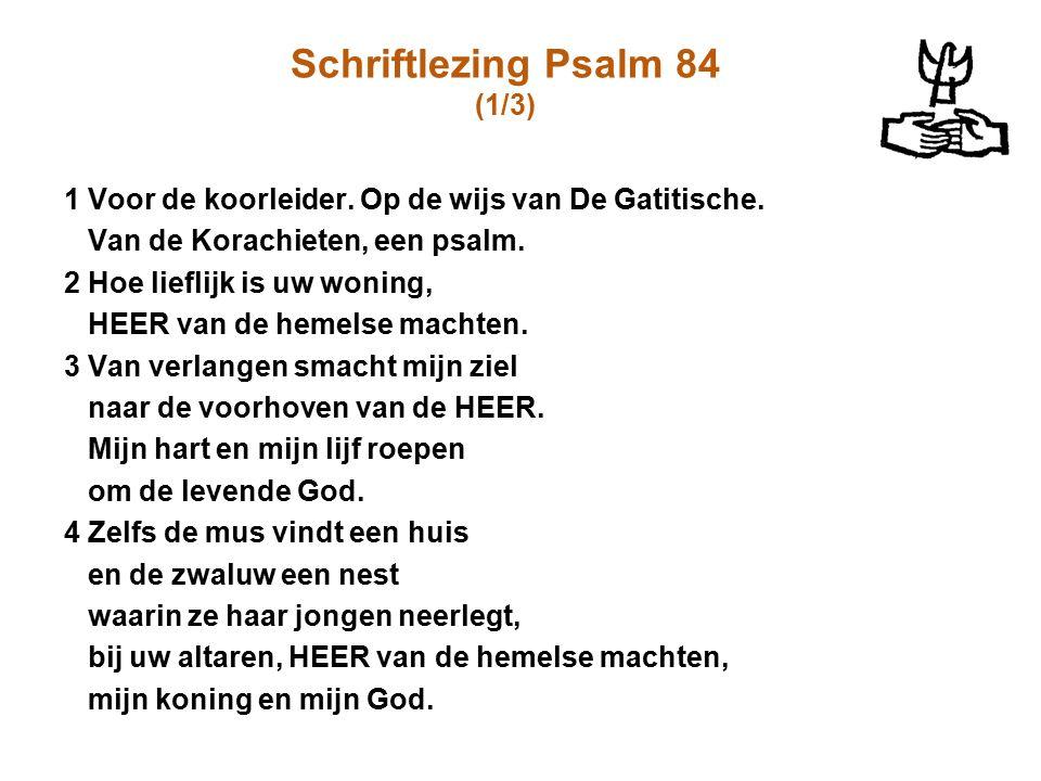 Schriftlezing Psalm 84 (1/3)