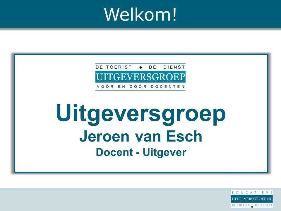 Uitgeversgroep Jeroen van Esch Docent - Uitgever