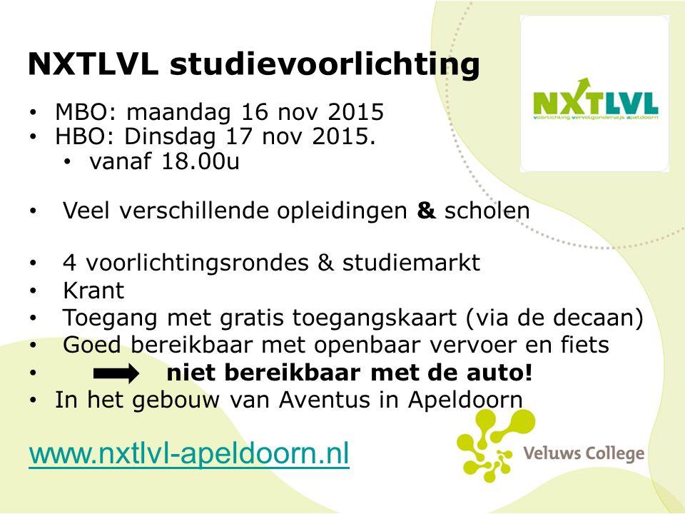NXTLVL studievoorlichting