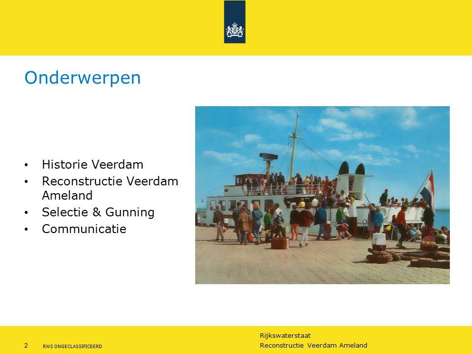 Onderwerpen Historie Veerdam Reconstructie Veerdam Ameland