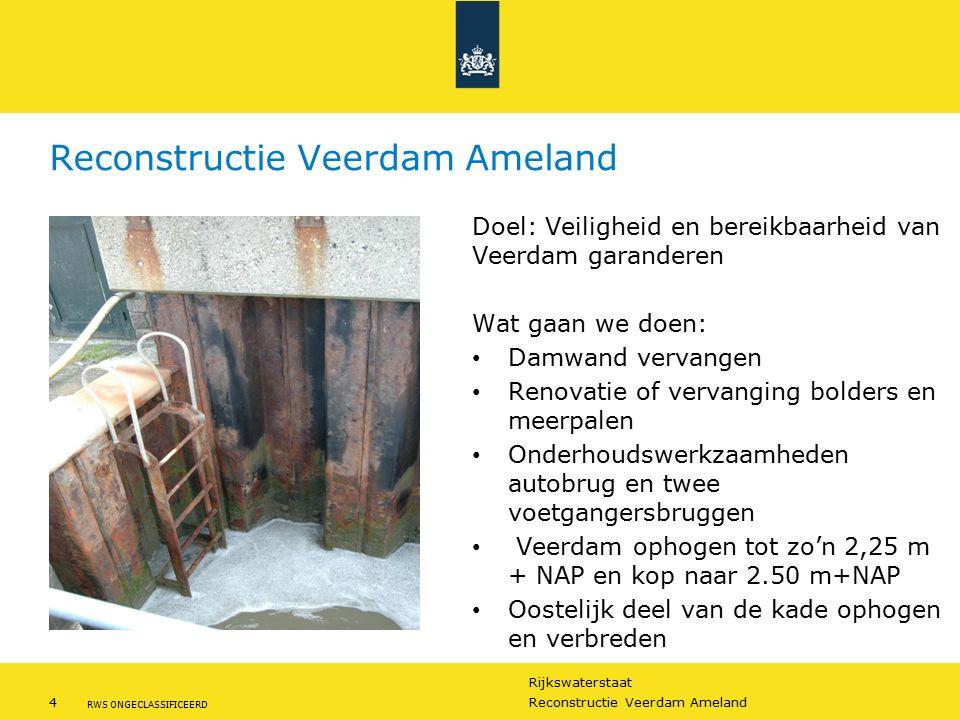Reconstructie Veerdam Ameland