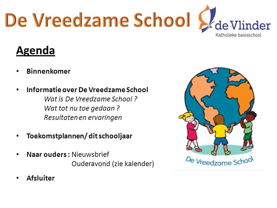 De Vreedzame School Agenda Binnenkomer