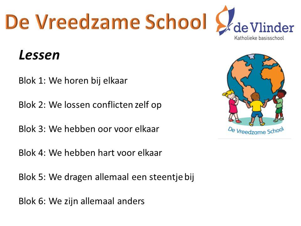 De Vreedzame School Lessen Blok 1: We horen bij elkaar