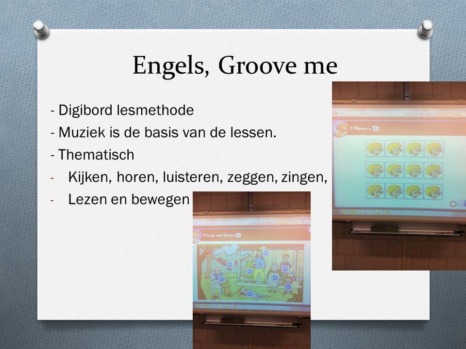 Engels, Groove me - Digibord lesmethode