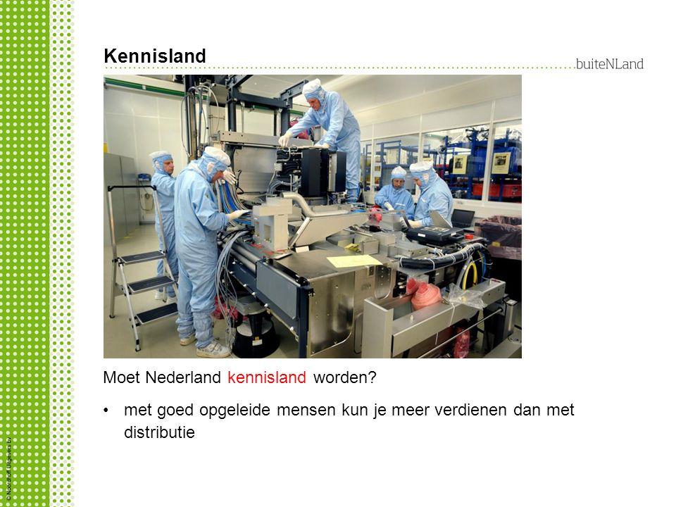 Kennisland Moet Nederland kennisland worden