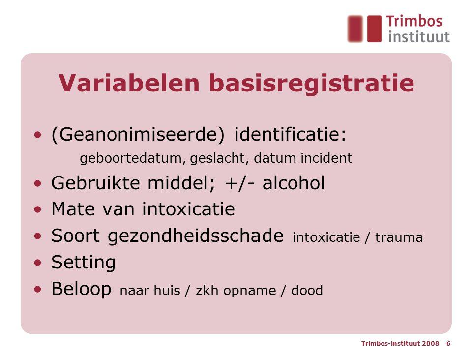 Variabelen basisregistratie