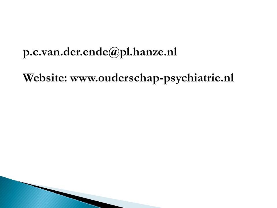 Website: www.ouderschap-psychiatrie.nl