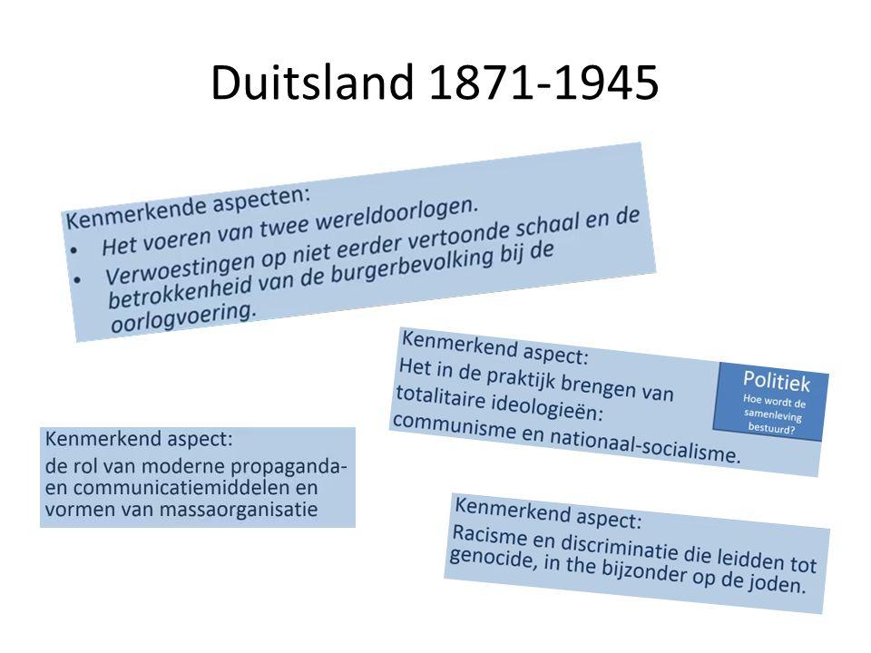 Duitsland 1871-1945