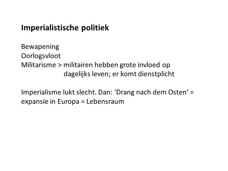 Imperialistische politiek