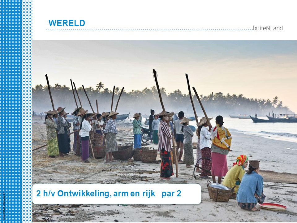 WERELD 2 h/v Ontwikkeling, arm en rijk par 2