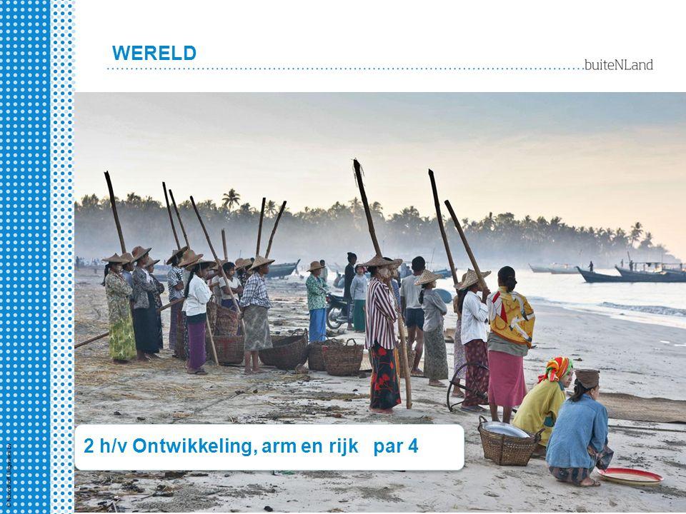 WERELD 2 h/v Ontwikkeling, arm en rijk par 4