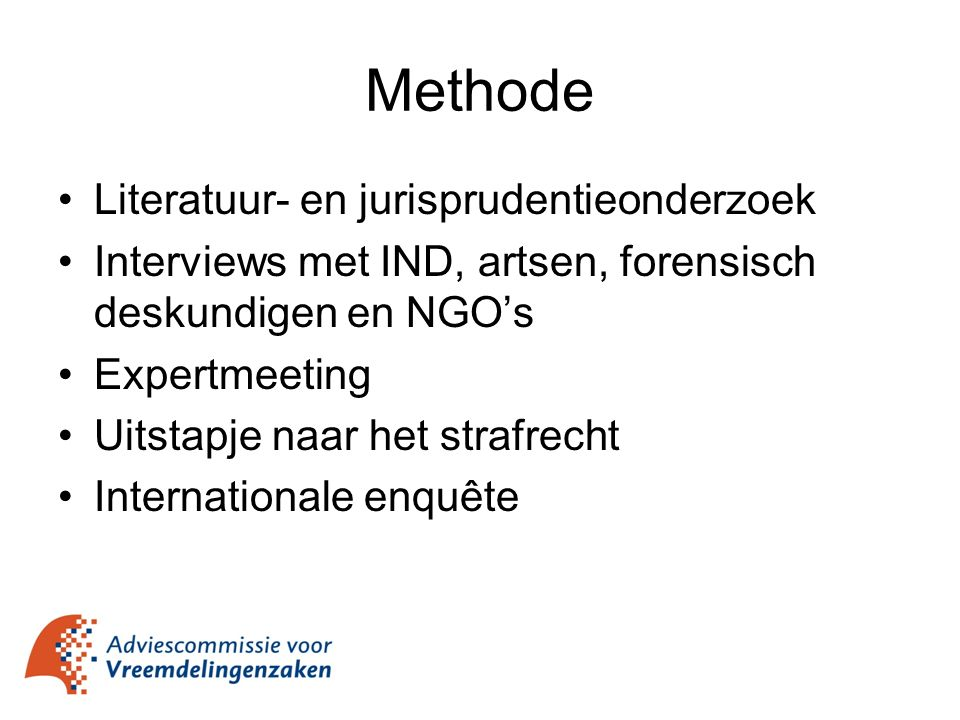 Methode Literatuur- en jurisprudentieonderzoek