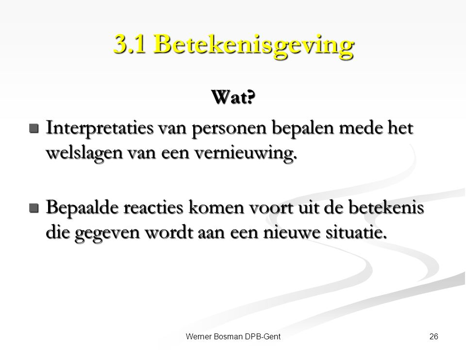 Werner Bosman DPB-Gent
