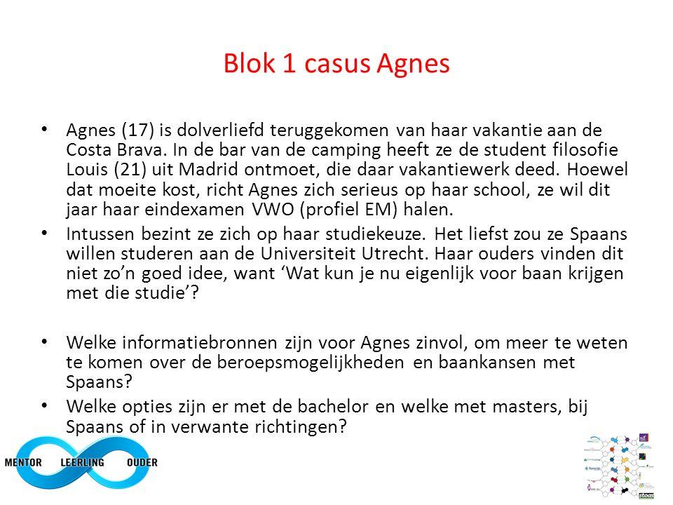 Blok 1 casus Agnes