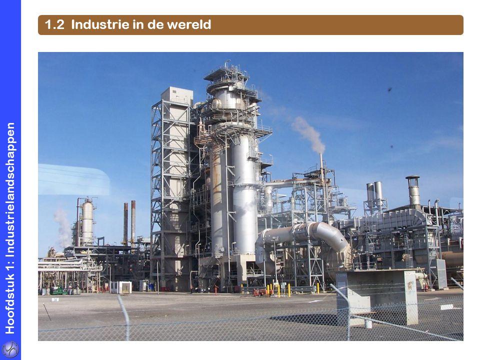 1.2 Industrie in de wereld Hoofdstuk 1: Industrielandschappen