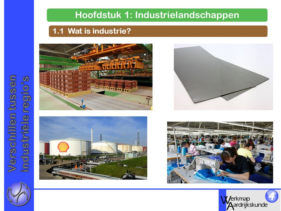 Hoofdstuk 1: Industrielandschappen