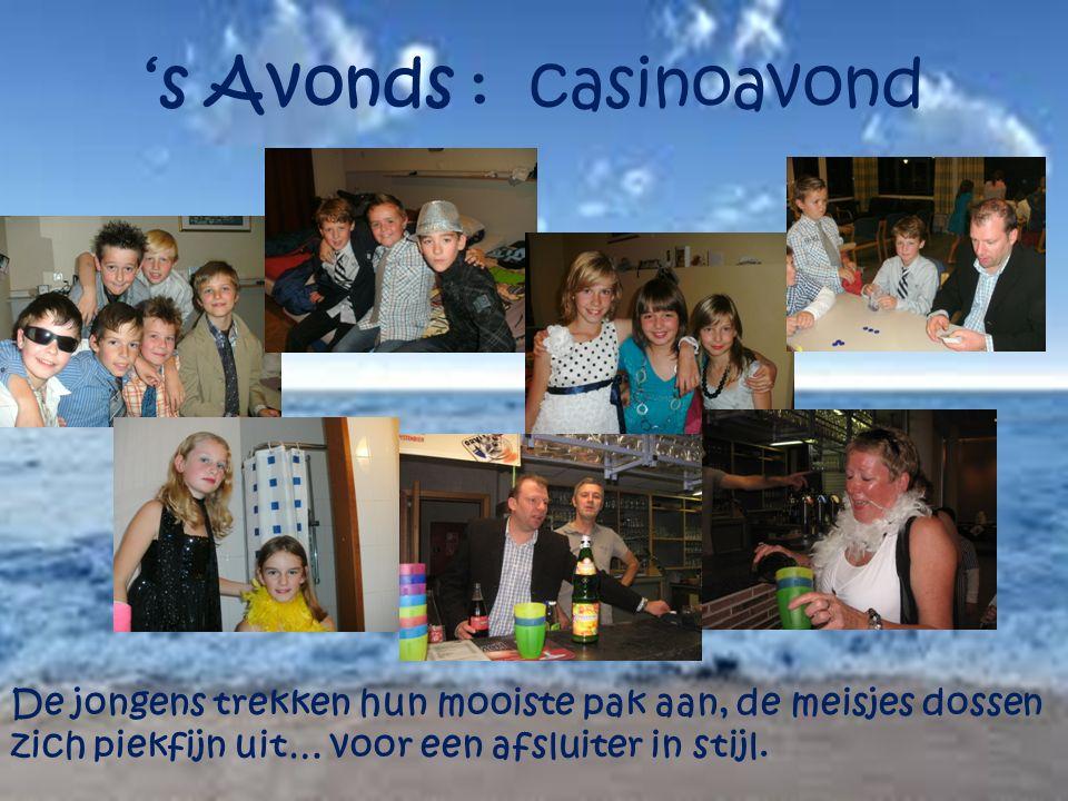 's Avonds : casinoavond