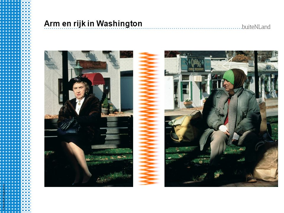 Arm en rijk in Washington