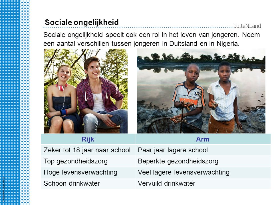 Sociale ongelijkheid