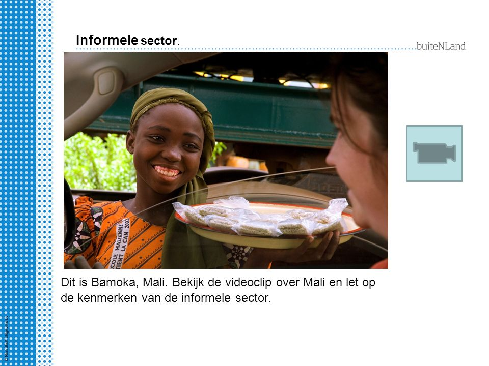 Informele sector. Dit is Bamoka, Mali.