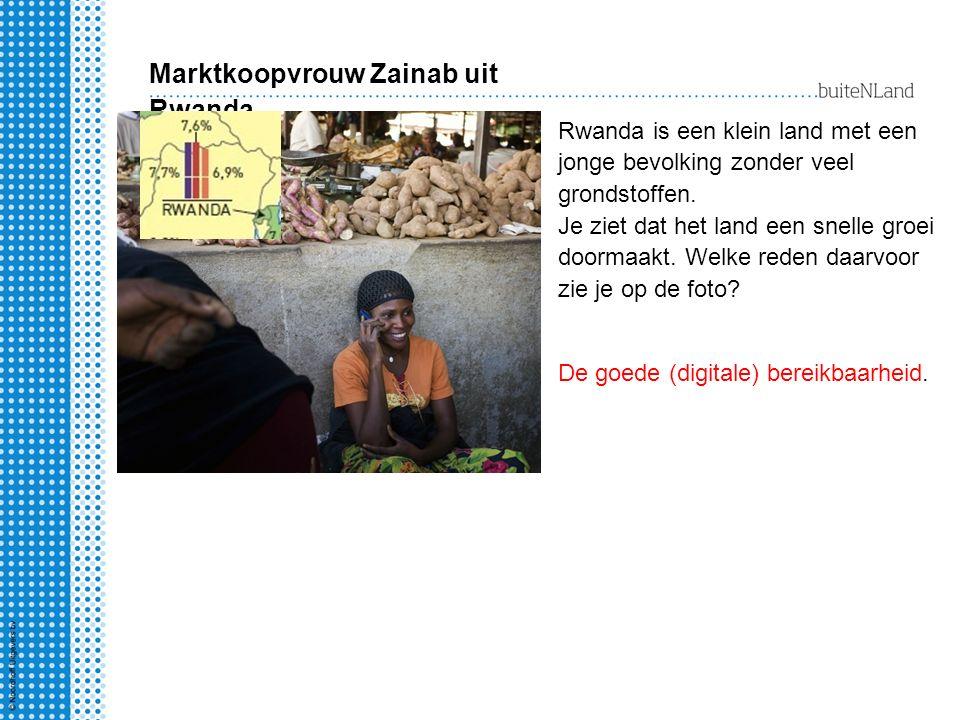 Marktkoopvrouw Zainab uit Rwanda