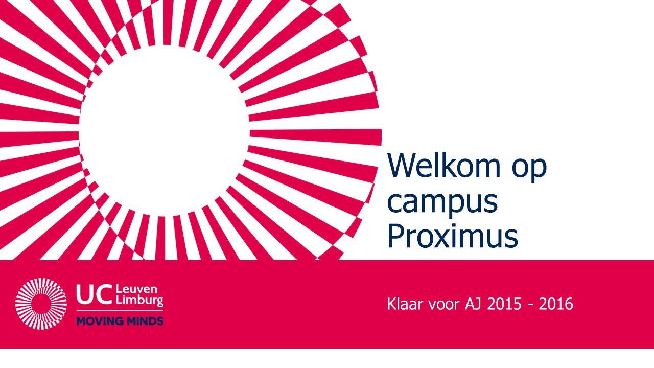 Welkom op campus Proximus