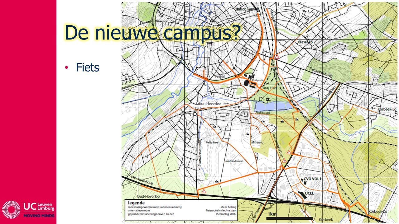 De nieuwe campus Fiets