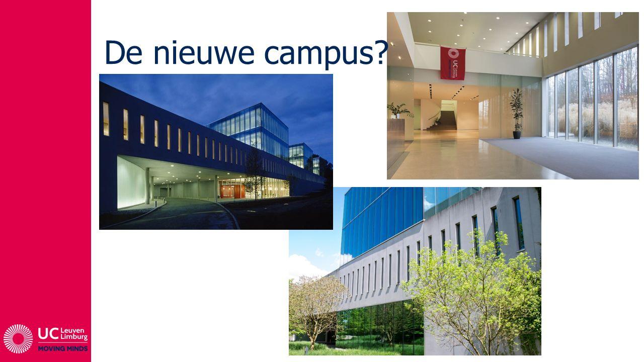 De nieuwe campus