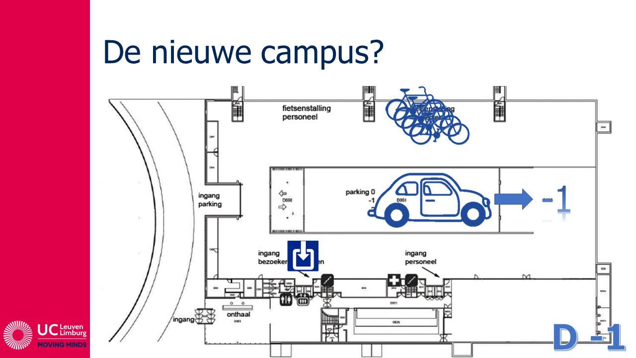 De nieuwe campus -1 D -1