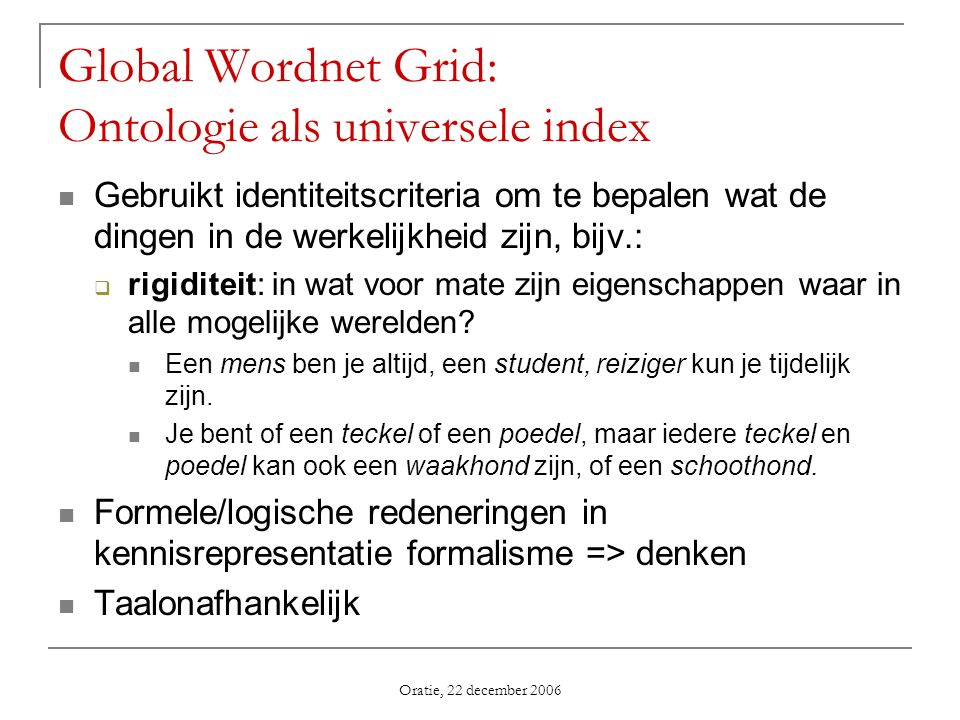 Global Wordnet Grid: Ontologie als universele index