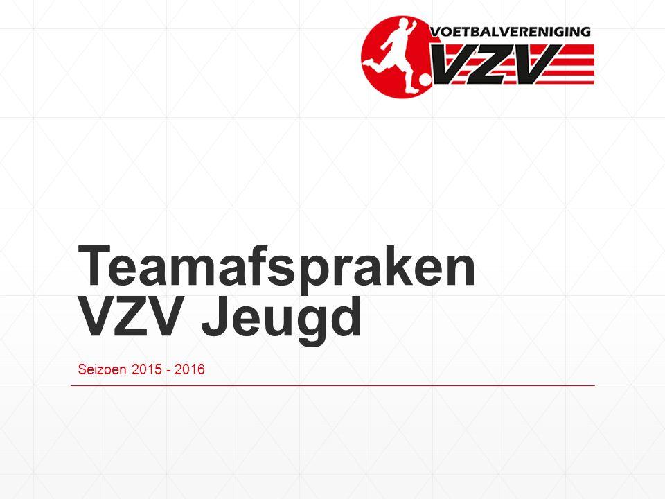 Teamafspraken VZV Jeugd