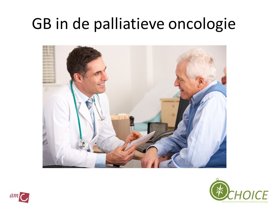 GB in de palliatieve oncologie