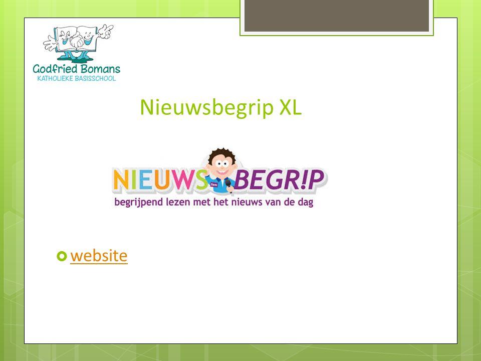 Nieuwsbegrip XL website