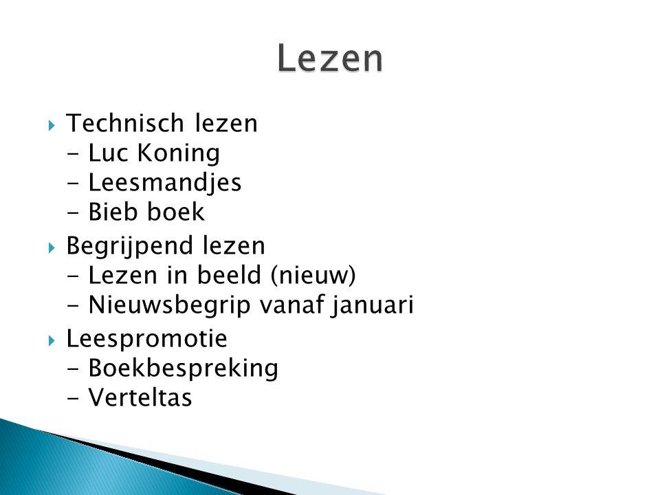 Lezen Technisch lezen - Luc Koning - Leesmandjes - Bieb boek