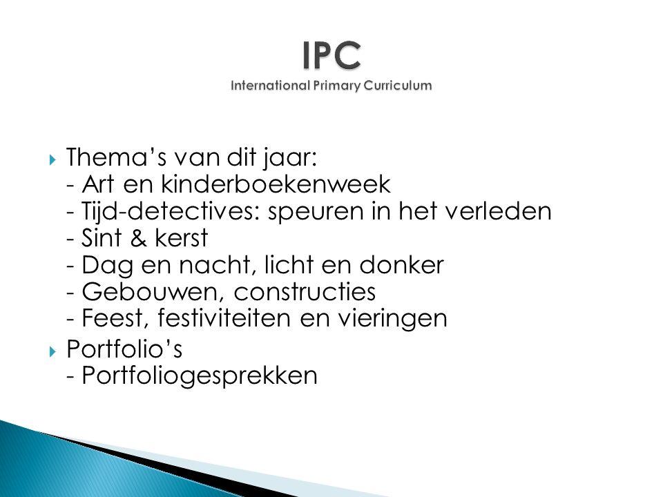 IPC International Primary Curriculum