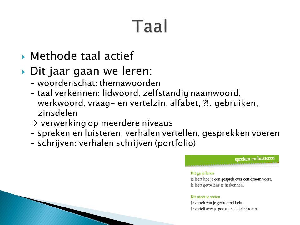 Taal Methode taal actief
