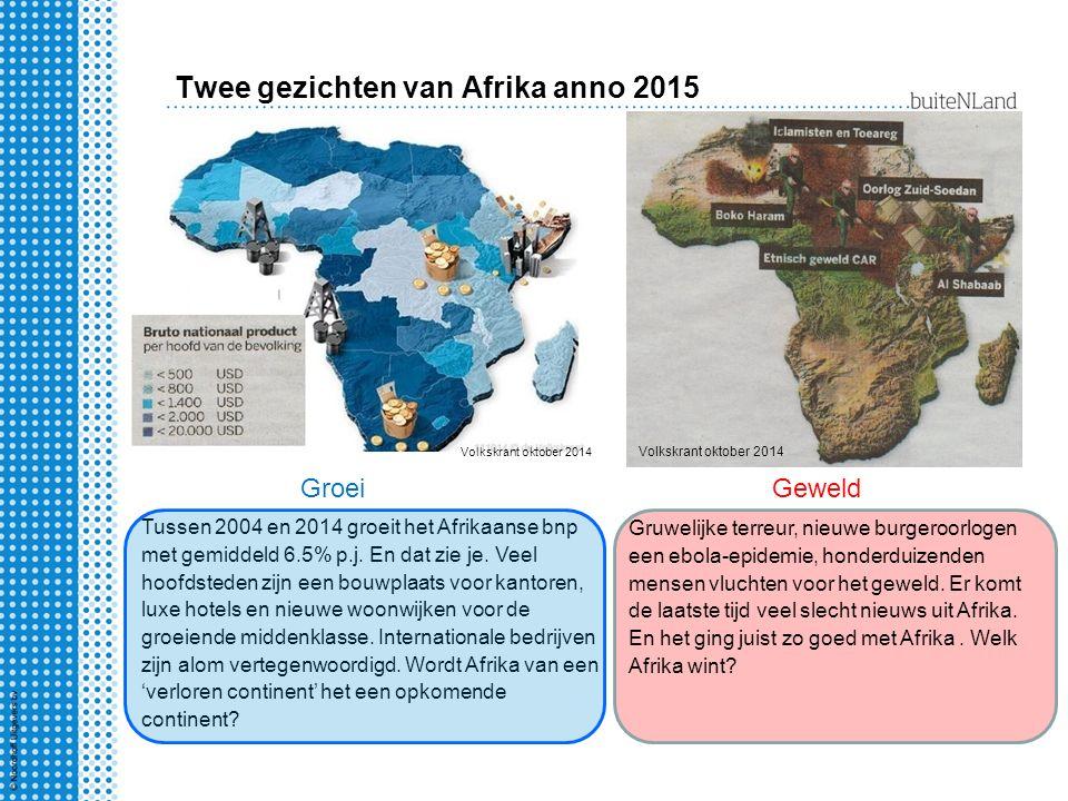 Twee gezichten van Afrika anno 2015
