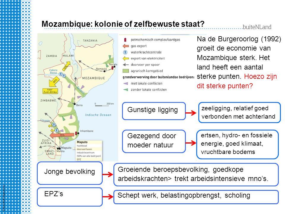 Mozambique: kolonie of zelfbewuste staat