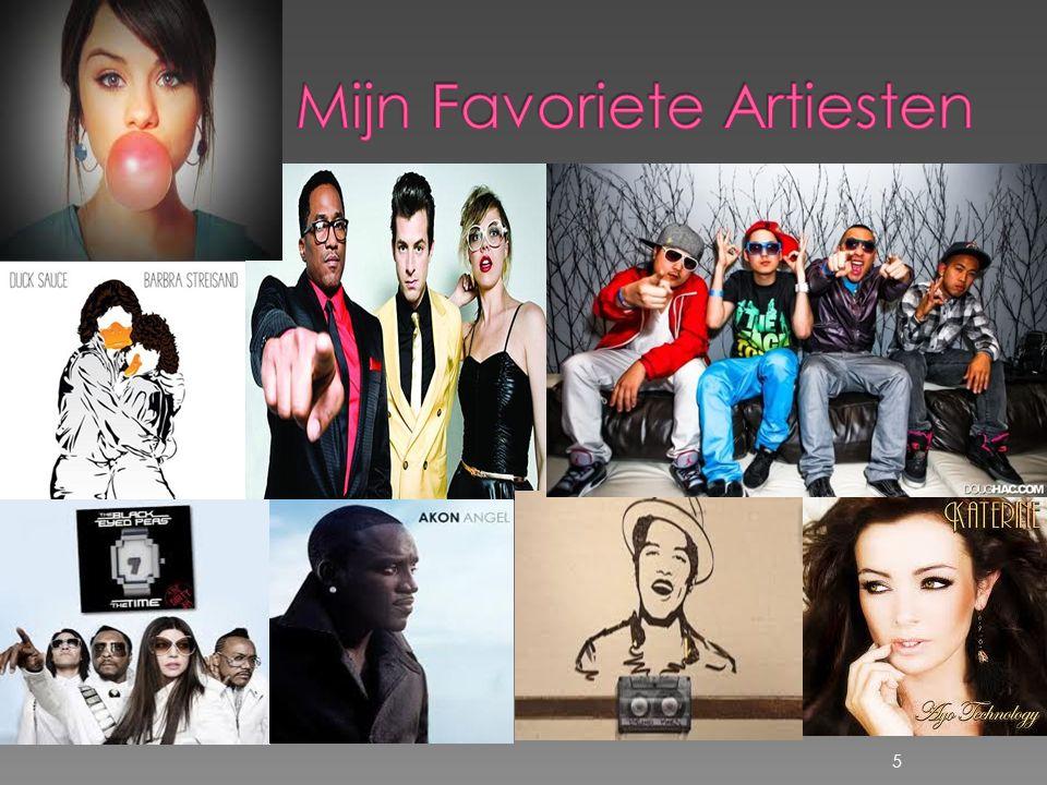 Mijn Favoriete Artiesten