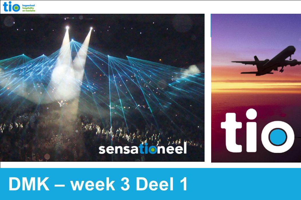 DMK – week 3 Deel 1