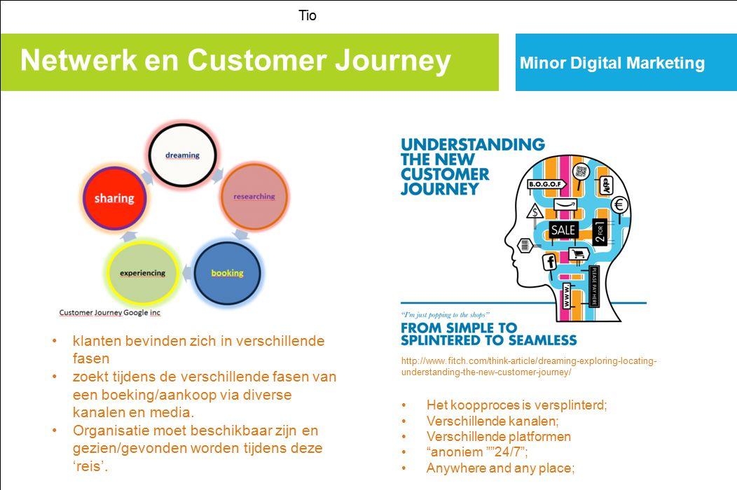 Netwerk en Customer Journey