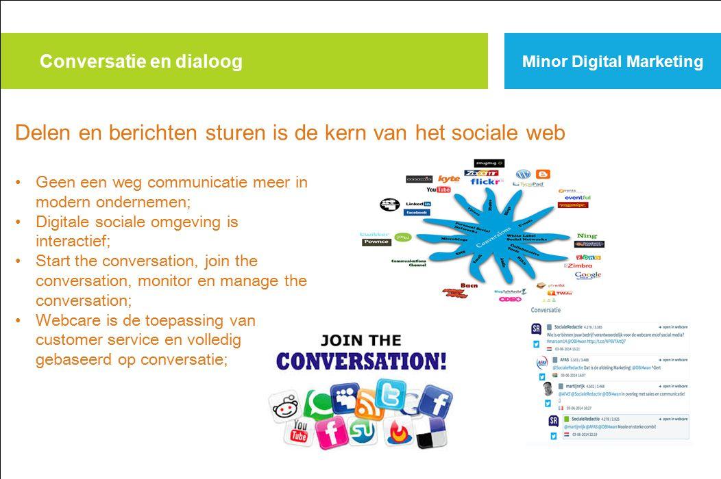 Conversatie en dialoog