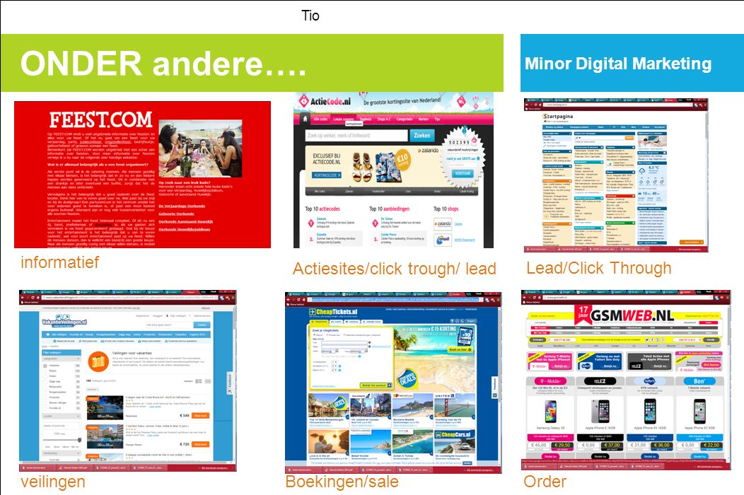 ONDER andere…. Minor Digital Marketing informatief