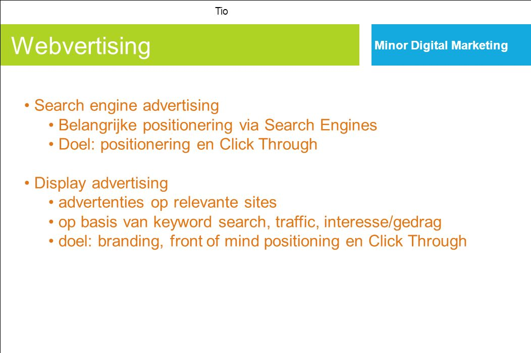Webvertising Search engine advertising
