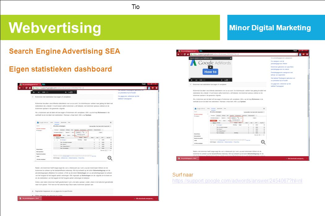 Webvertising Minor Digital Marketing Search Engine Advertising SEA