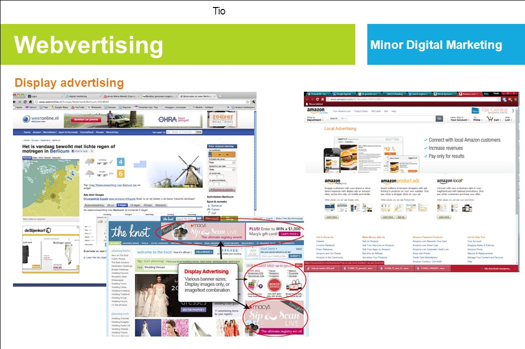 Tio Minor Digital Marketing Webvertising Display advertising
