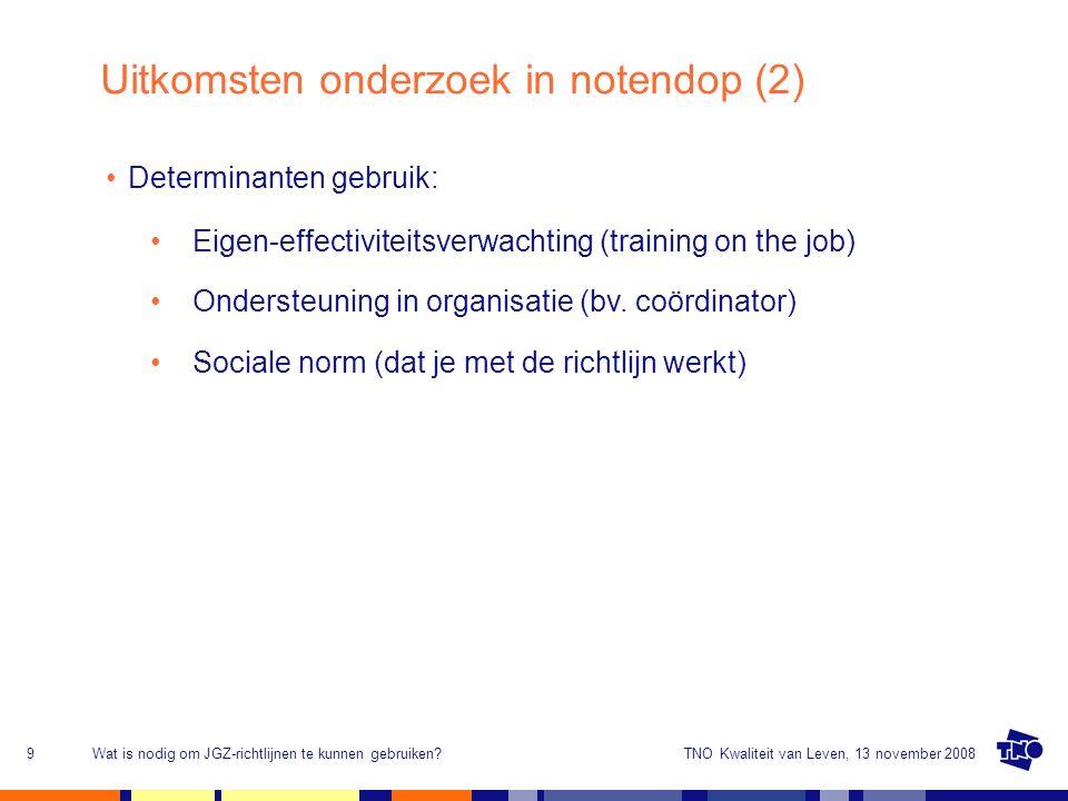 Uitkomsten onderzoek in notendop (2)
