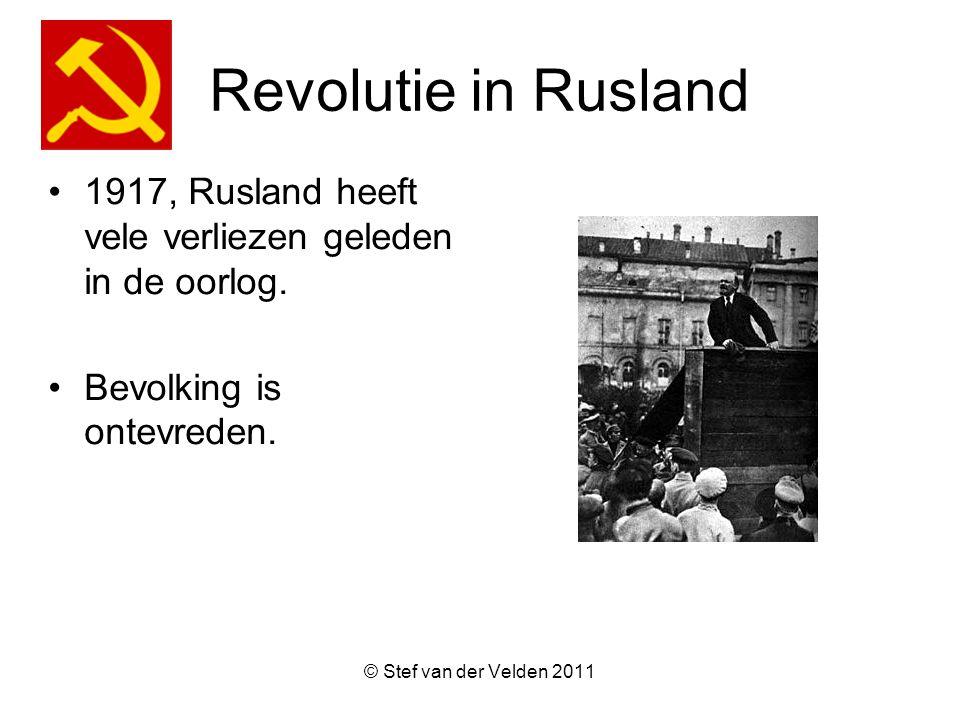 Revolutie in Rusland 1917, Rusland heeft vele verliezen geleden in de oorlog. Bevolking is ontevreden.