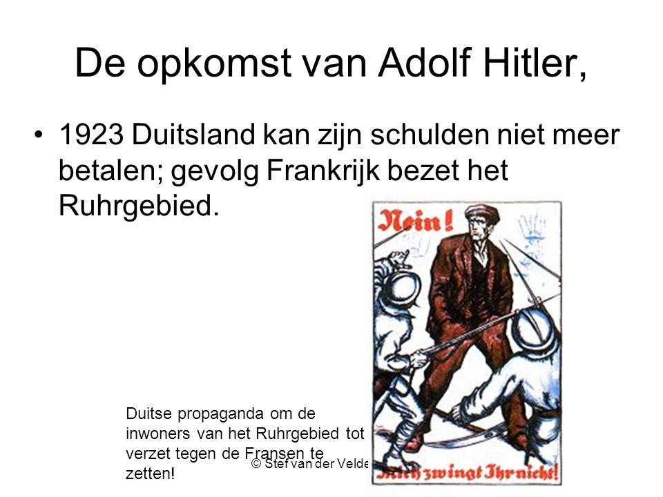 De opkomst van Adolf Hitler,